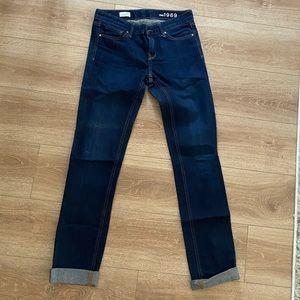 GAP Real Straight leg Dark Jean
